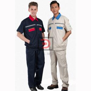 Đồng phục công nhân cơ khí mẫu 02