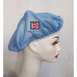 Nón lưới trùm tóc màu xanh