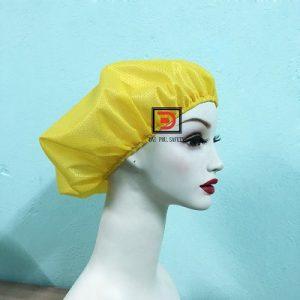 Nón lưới bao tóc màu vàng