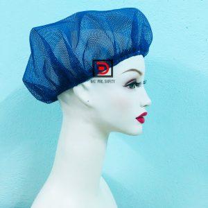 Nón lưới trùm tóc màu xanh bích mỏng