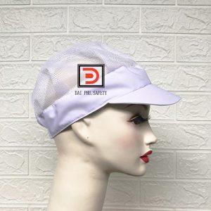 Mũ lưới trùm tóc công nhân màu trắng