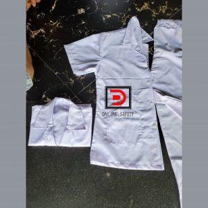 Quần áo thủy sản màu trắng